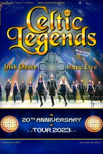 Celtic Legend affiche tournée 2023