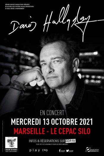David Hallyday affiche concert