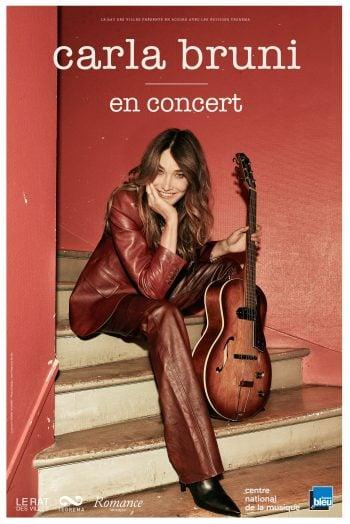 Affiche Carla Bruni concert cepac silo marseille