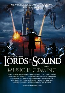 Lords of the sounds affiche concert