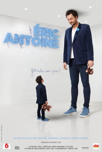 Affiche eric antoine spectacle humour